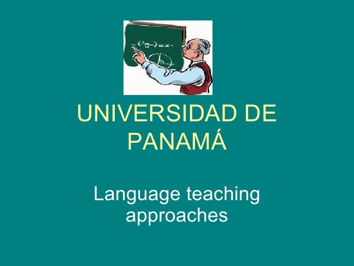 approaches in language teaching This is the original version of principles and practice,  v approaches to language teaching 125  second language teaching practice and what is known about the.