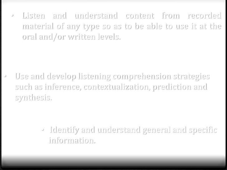 Diagnostic session advanced English