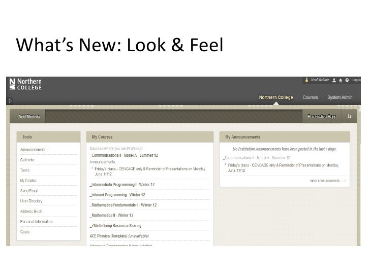 What's New: Look & Feel