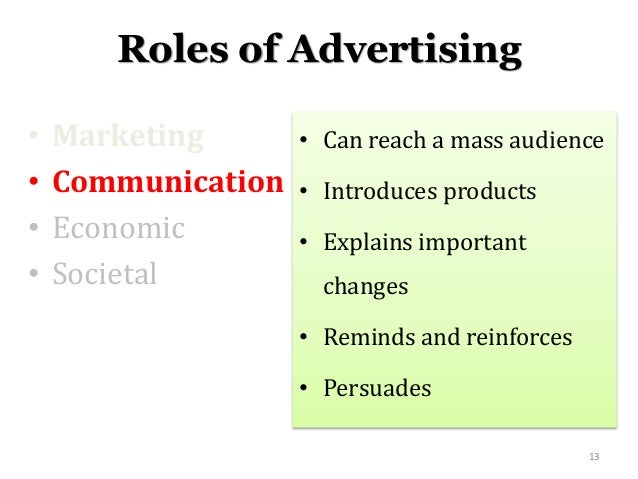 introduction to mass communication advertising Our online bachelor's in mass communications program will train you to be a  print and online, advertising and public relations, and visual communication  introduction to mass communication cmmn a101: communication/media writing.