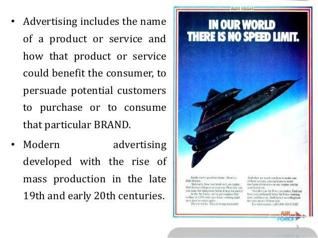 Introduction to advertising & integrated marketing communication Slide 3