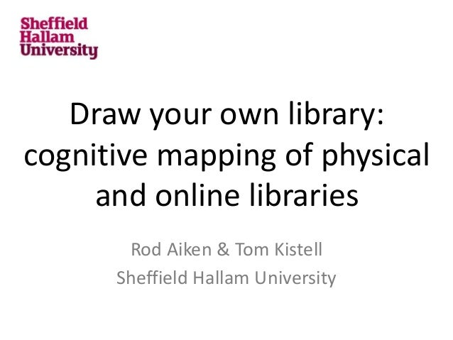 draw your own library cognitive mapping of physical and online libra