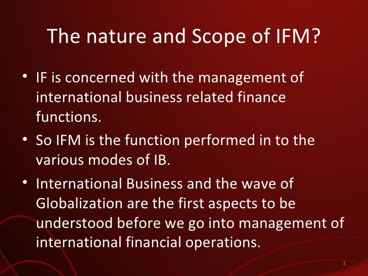 international business finance session 1 Reasons to study international business and finance at dmu:  we offer a  range of workshops, drop-in and one-to-one sessions, and our just.