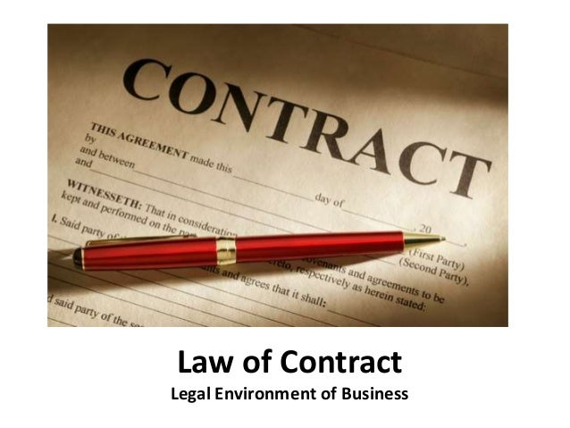 legal environment of business mba notes