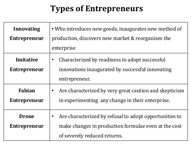 two kinds of entrepreneurs In fact, in a sense, there are two kinds of special education: one in which students get the services they need to function well in school, services like.