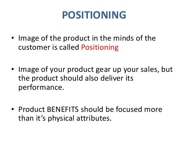 Customer Perception and Product Strategy