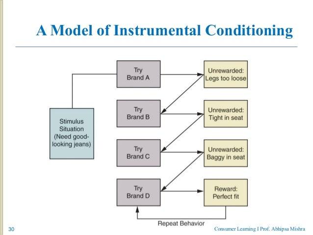 instrumental conditioning marketing