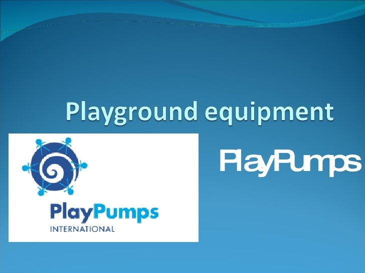PlayPumps