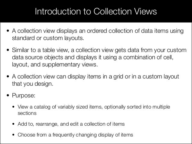 Session 15 - Working with Image, Scroll, Collection, Picker, and Web…