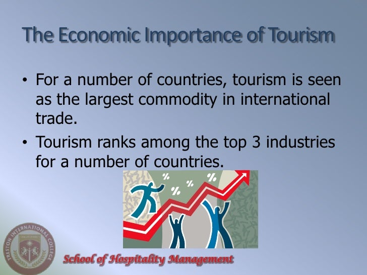 importance of tourism economy The tourism industry is one of switzerland's most important economic sectors and  employs  the tourism sector is one of the main drivers of the swiss economy.