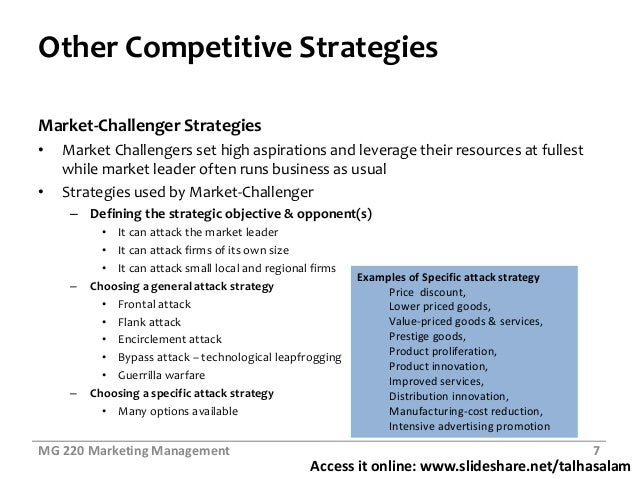 market leader market challenger market follower examples The market challenger is the position when a company confronts the leader of the  market the market follower is a company that follows and copies the leader  rather  for example, its product must be of higher quality, its prices must be  lower,.