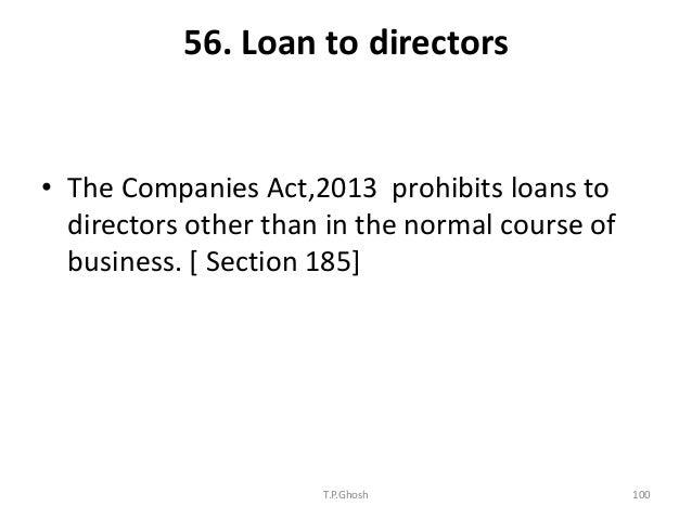 Stock options companies act 2013