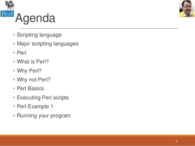 perl script template - session 1 introduction to perl programming