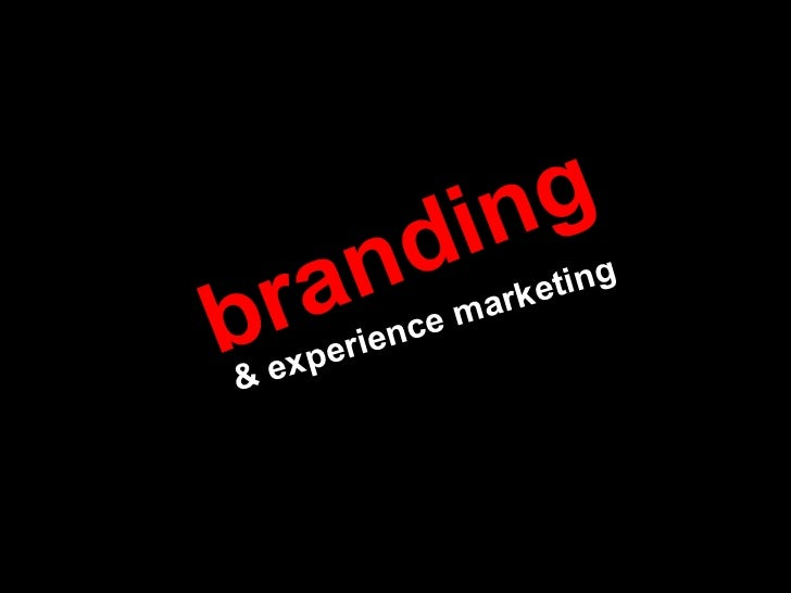 branding & experience marketing