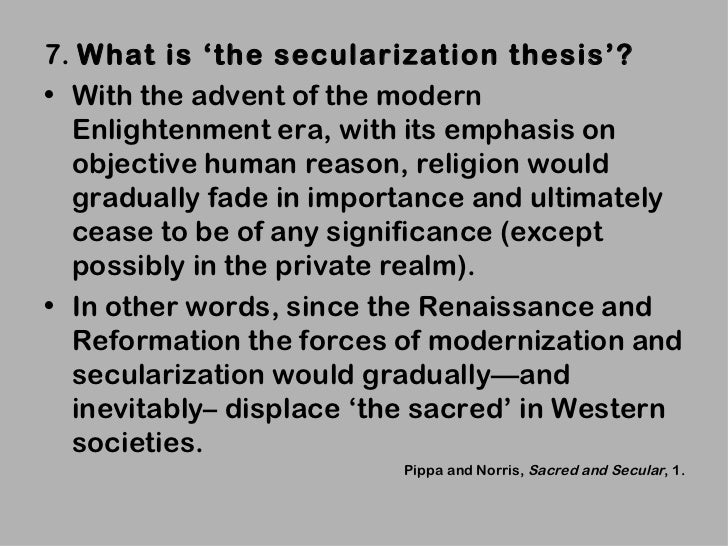god is dead secularization in the west pdf