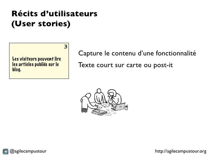Récits d'utilisateurs(User stories)                               3                                   Capture le contenu d...