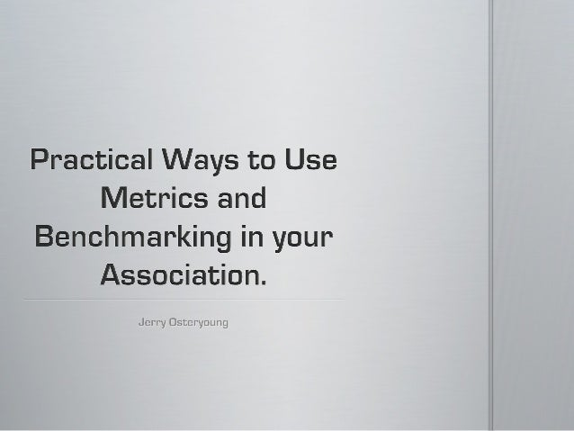 2012 TSAE Education Day & Trade Show - Session 2 - CEO Track - Jerry Osteryoung - Practical Ways to Use Business Metrics &...