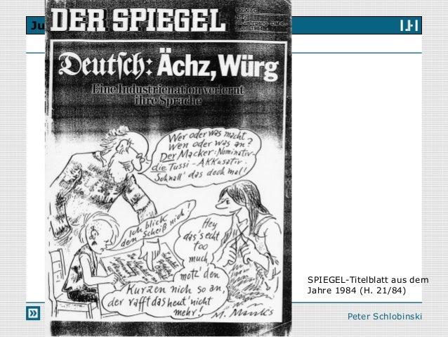 Session 2 jugendsprache for Spiegel titelblatt