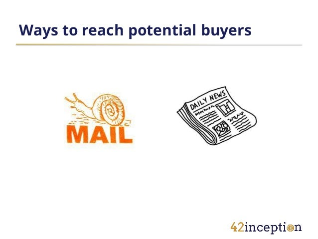 Ways to reach potential buyers