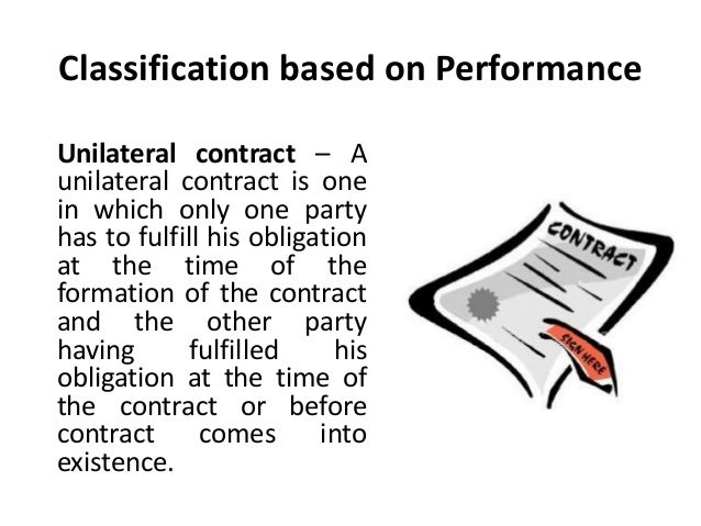 bilateral contract Bilateral contract an agreement formed by an exchange of a promise in which the promise of one party is consideration supporting the promise of the other party a bilateral contr.
