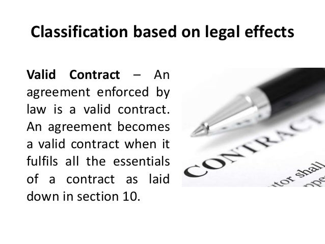 an overview of the constituents of an agreement enforceable by law Overview of australian contract law a contract is generally only enforceable by and against parties to the contract overview of australian consumer law.