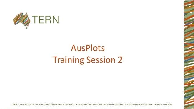 AusPlots Training Session 2