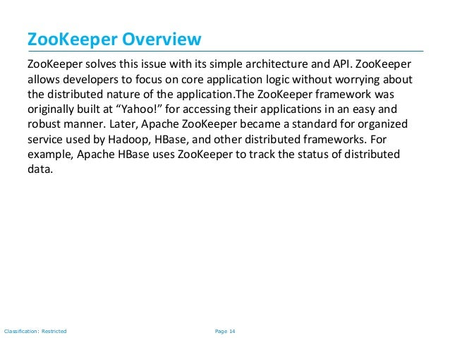 Session 23 - Kafka and Zookeeper