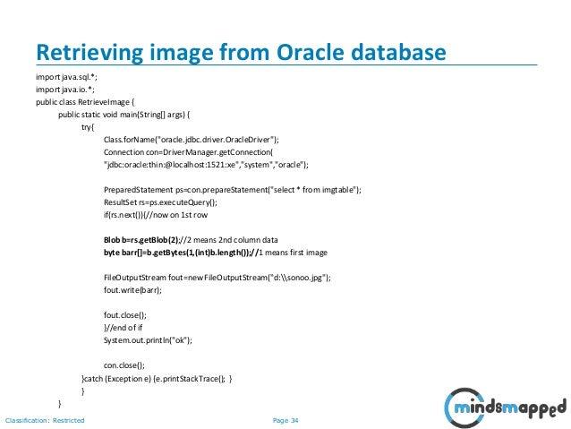 Session 24 - JDBC, Intro to Enterprise Java