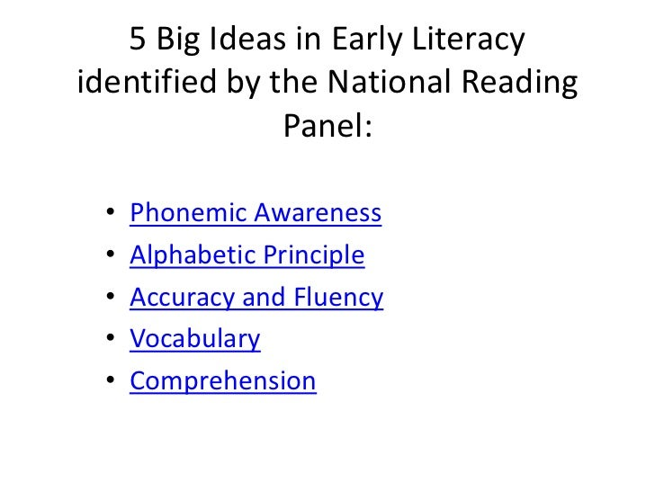 developing the literate child This view emphasizes the developmental nature of literacy — the passage of children through successive stages of literacy,  handbook of early child development.