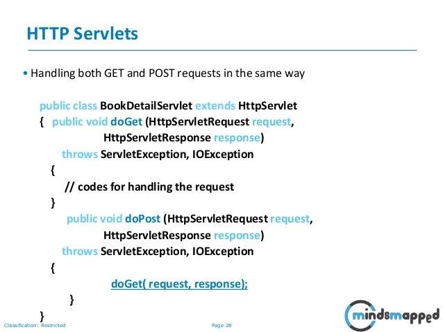 Session 26 - Servlets Part 2