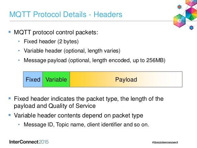 IAB-5039 : MQTT: A Protocol for the Internet of Things