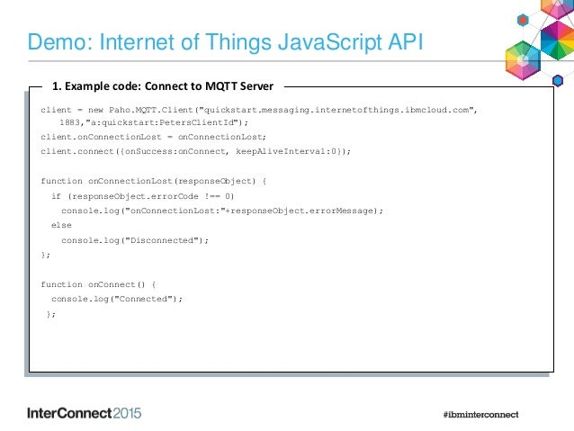 IAB-5039 : MQTT: A Protocol for the Internet of Things