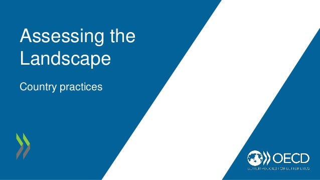 Assessing the Landscape Country practices
