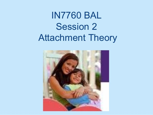 IN7760 BAL Session 2 Attachment Theory