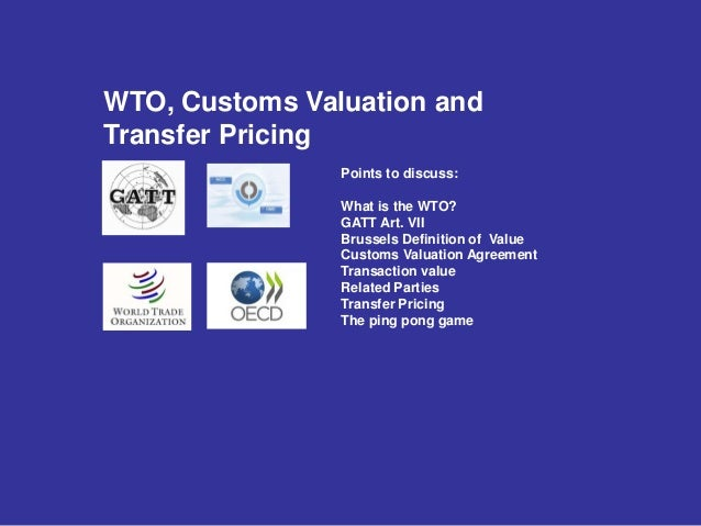 WCO publishes guide to customs valuation and transfer ...