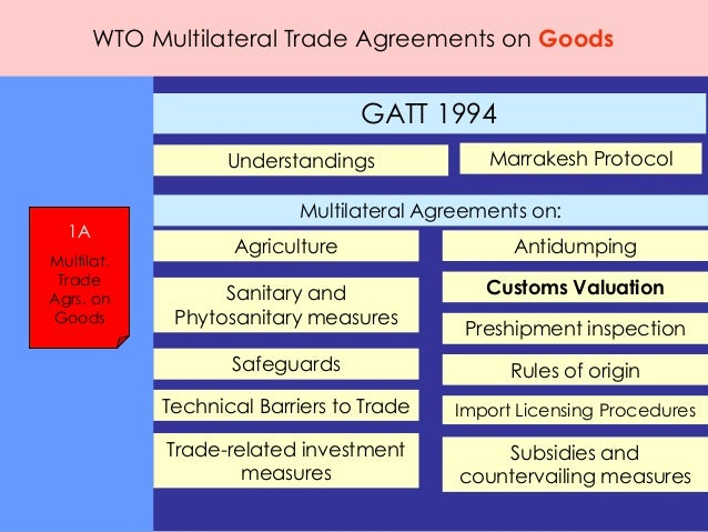 a description of the world trade organization wto as a vital multilateral trade agreement Iisd has focused on the wto because this new organization is the global bell- wether for action on  an agreement on trade and environment: addressing  ppms 58  provisions of the multilateral trading system are required  between  the trading system and the environment if it begins to treat the issue as a vital part  of.