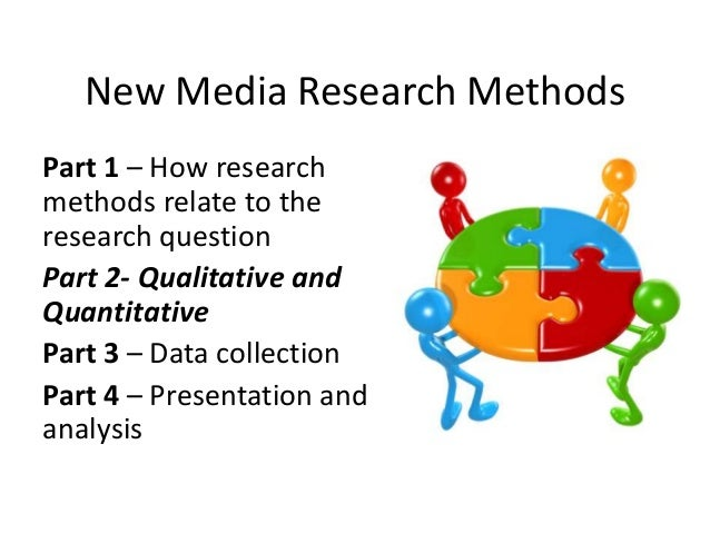 New Media Research MethodsPart 1 – How researchmethods relate to theresearch questionPart 2- Qualitative andQuantitativePa...