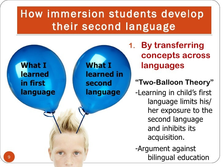 argument response against dual language education Dual language programs, which provide instruction in both english and a second language, are flourishing in elementary schools across the country as educators find benefits for both.