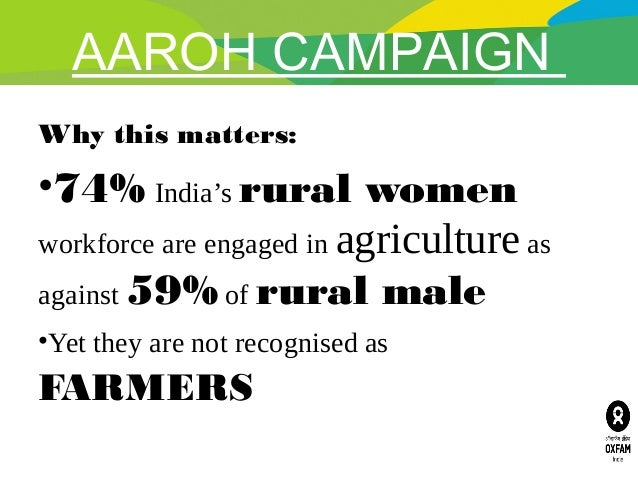 AAROH CAMPAIGN: Mobilising women farmers to secure land