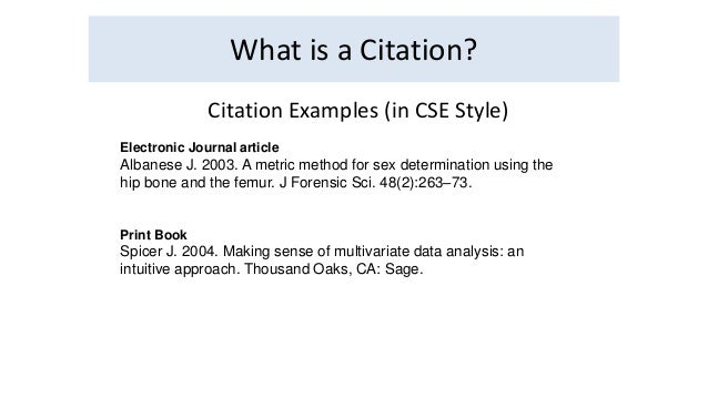 scientific trend citation generator