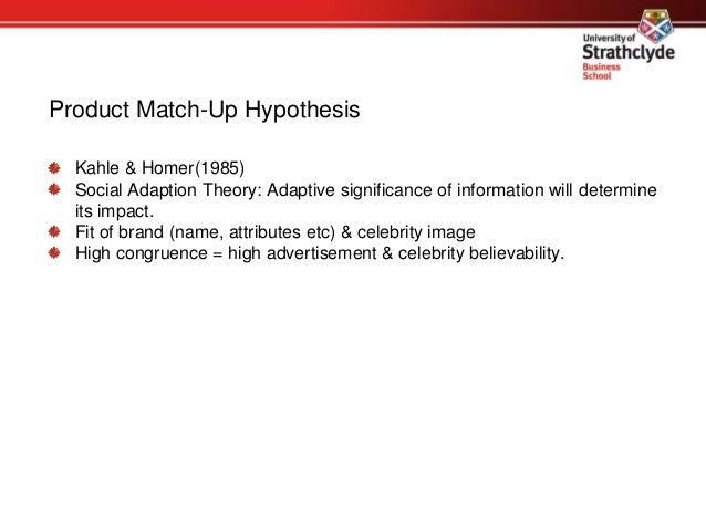 Matching products with endorsers: attractiveness versus ...