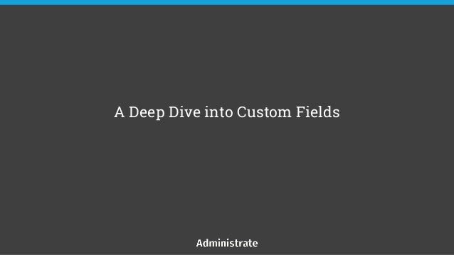 A Deep Dive into Custom Fields