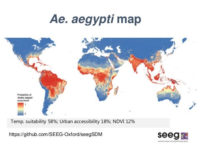 Global distribution maps of the arbovirus vectors ae aegypti and ae boosted regression trees 30 ae aegypti map sciox Gallery