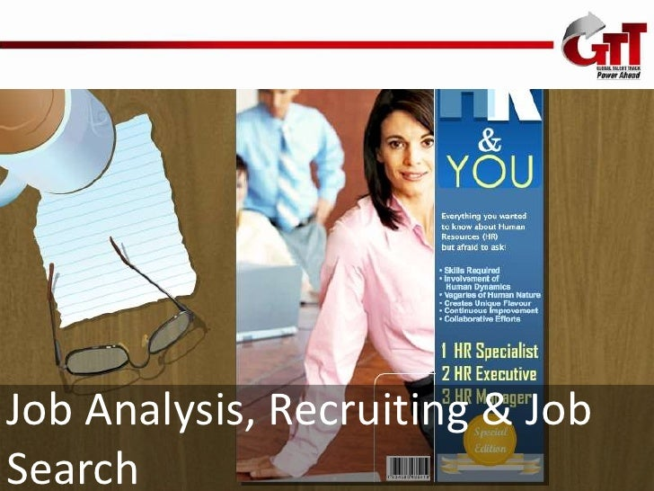 Job Analysis, Recruiting & JobSearch