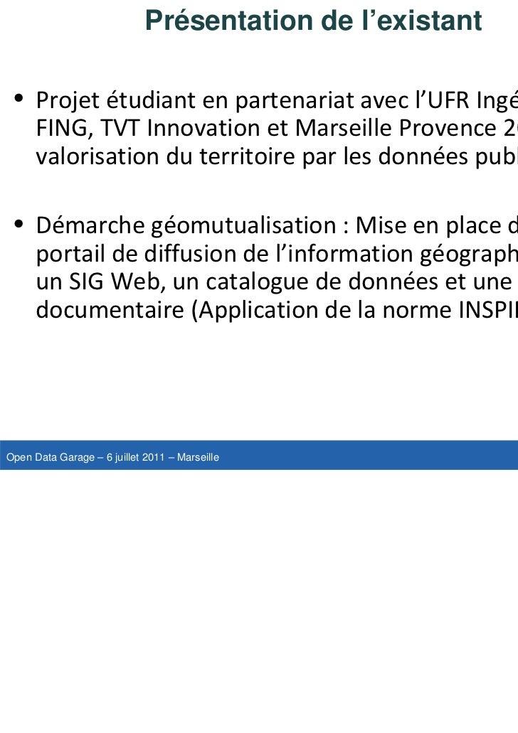 OpenDataGarage-Session3B-PascalPeuchot-ToulonProvenceMéditerranée Slide 2