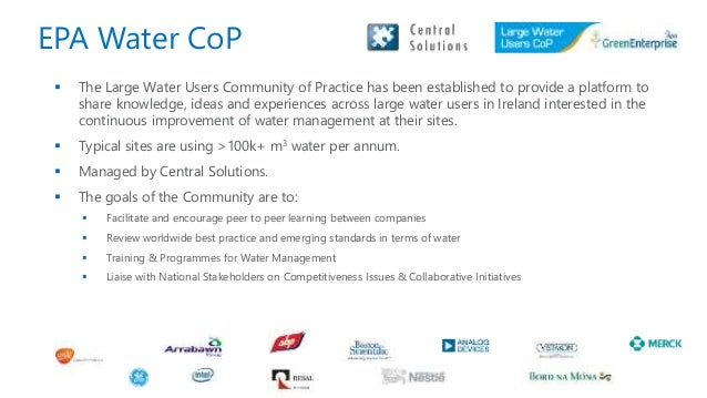  The Large Water Users Community of Practice has been established to provide a platform to share knowledge, ideas and exp...
