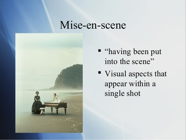 jaws mise en scene Mise en scene film analysis questions are the movements in a scene are the cinematic techniques ideologically weighted – the mise en scene, the.