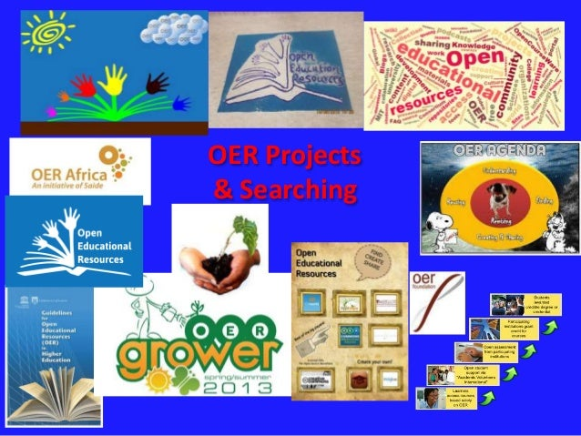 OER Projects  & Searching