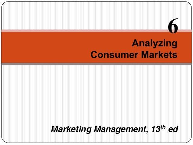 Marketing Management, 13th ed 6