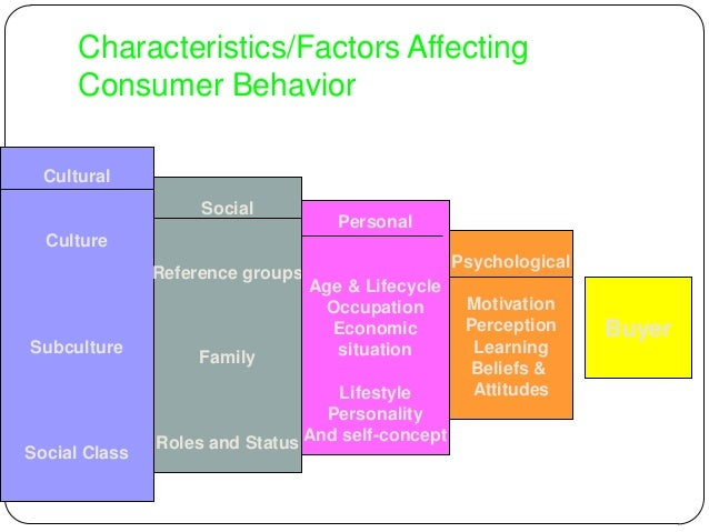 consumer behavior perception